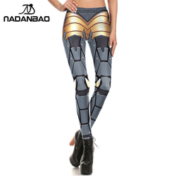 Bionic Armour plates leggings - Cool Printed Leggings