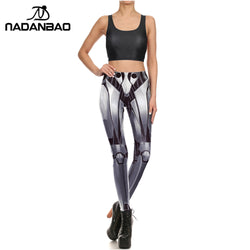 Robot leggings - Cool Printed Leggings
