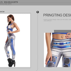 Star Wars R2-D2 leggings - Cool Printed Leggings