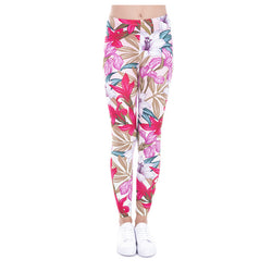 Paradise Flowers leggings - Cool Printed Leggings