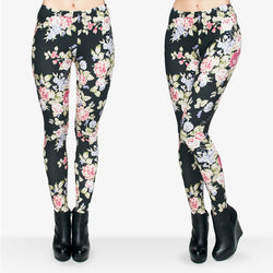 Flowers leggings - Cool Printed Leggings
