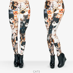 Cats leggings - Cool Printed Leggings
