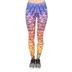 Gradient Triangles leggings - Cool Printed Leggings
