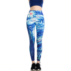 Harajuku leggings - Cool Printed Leggings