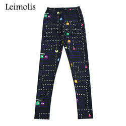 Pacman leggings - Cool Printed Leggings