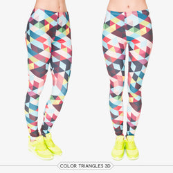 Geometric leggings - Cool Printed Leggings