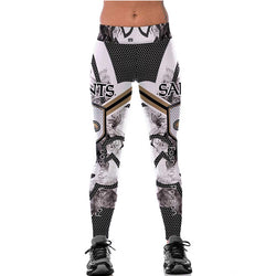 New Orleans Saints leggings - Cool Printed Leggings
