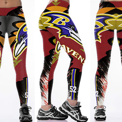 Baltimore Ravens leggings - Cool Printed Leggings