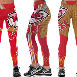 Kansas City Chiefs leggings - Cool Printed Leggings