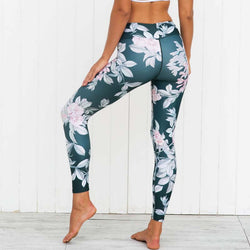 Pink Flowers leggings - Cool Printed Leggings