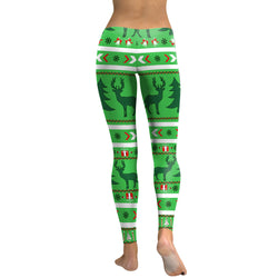 Ugly Christmas Designs leggings - Cool Printed Leggings
