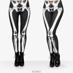 X-Ray leggings - Cool Printed Leggings