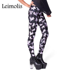 Happy Unicorns leggings - Cool Printed Leggings