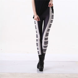 Piano leggings - Cool Printed Leggings