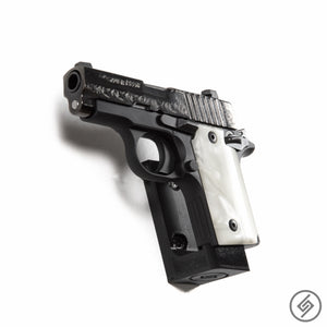 Wall Mount for Kimber Micro 9 Pistol, Left, Spartan Mounts