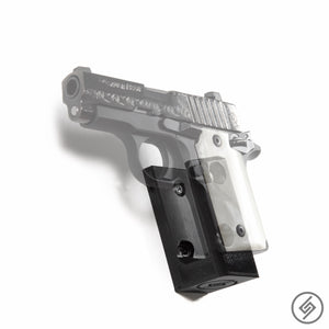 Wall Mount for Kimber Micro 9 Pistol, Transparent, Left, Spartan Mounts