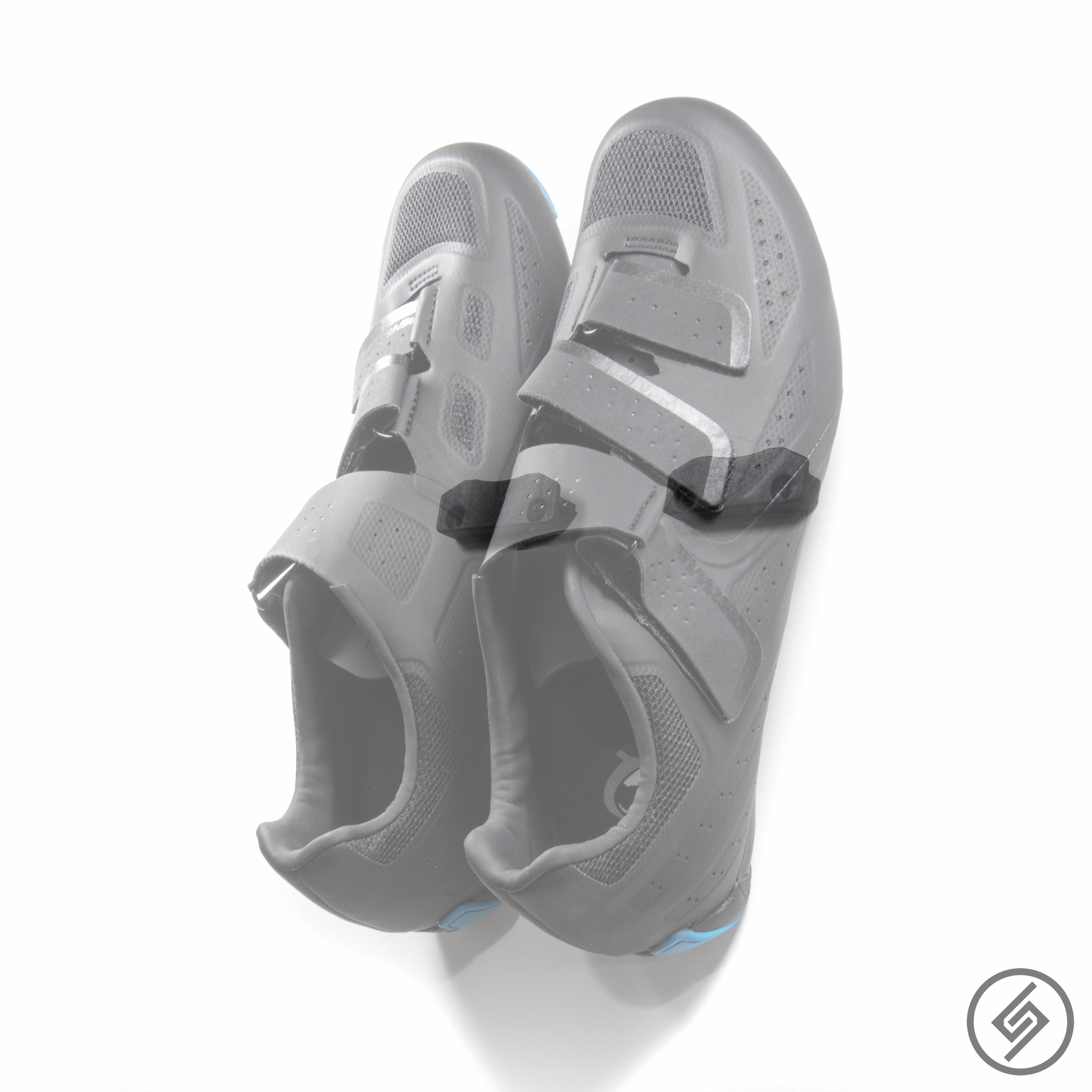 Wall Mount for PELOTON Bike Shoes, Transparent, Spartan Mounts