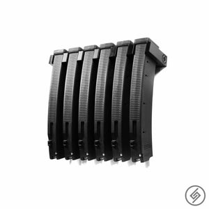 Customized wall mount for 6 EV9 PMag Magazines, Spartan Mounts