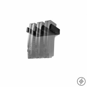 Magazine Mount FOR 9mm OEM CZ SCORPION EVO 3, Transparent, Spartan Mounts