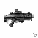 CZ Scorpion EVO 3 Wall Mount, Right, Spartan Mounts Rifle Display