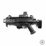 CZ Scorpion EVO 3 Wall Mount, Left, Spartan Mounts Rifle Display