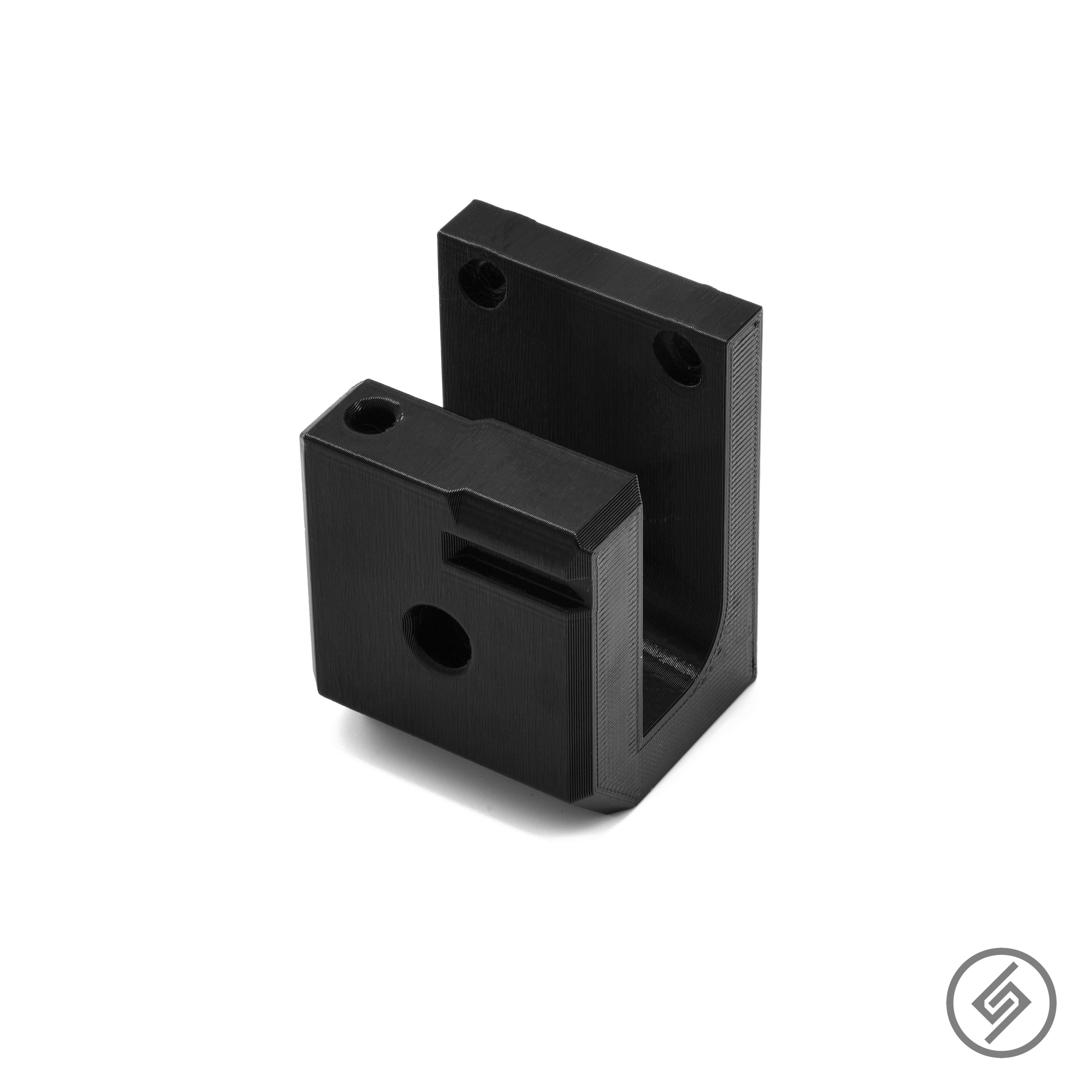 AR-15 Deep Wall Mount, Spartan Mounts Rifle Display, Product Photo