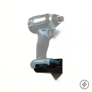 Wall Mount Customized for MAKITA 18V Power Tools, Transparent, Right, Spartan Mounts