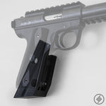 Ruger .22 MK III Wall Mount, Right, Transparent, Spartan Mounts
