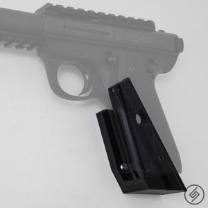 Ruger .22 MK III Wall Mount, Left, Transparent, Spartan Mounts