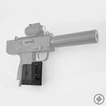 MAC-10 Wall Mount, Right, Transparent, Spartan Mounts