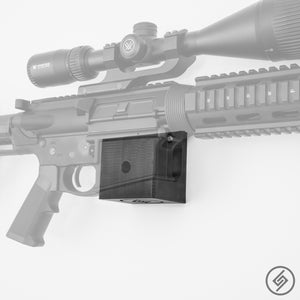 Panzer AR-12 Wall Mount, Right, Transparent, Spartan Mounts