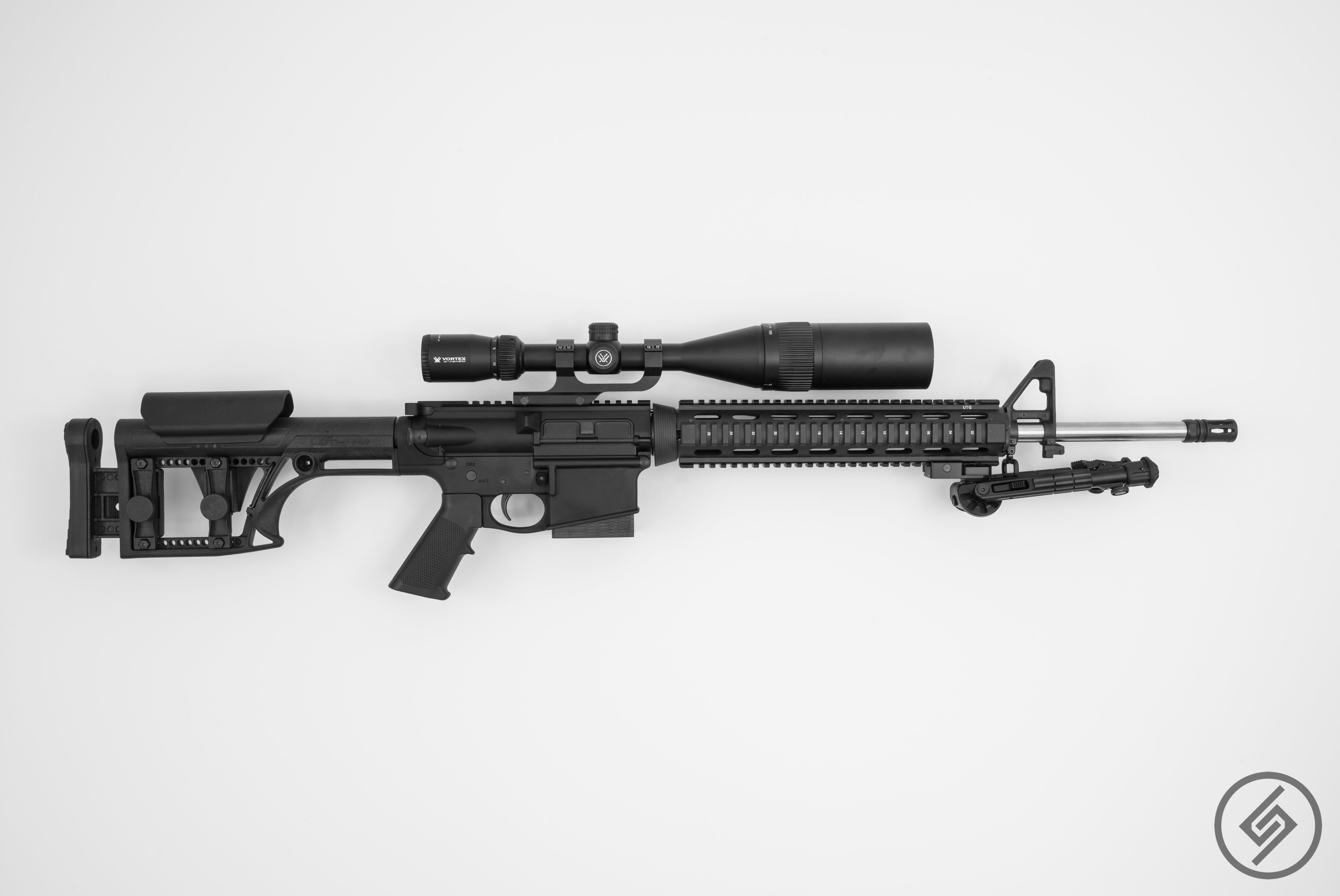 AR-10 Wall Mount, Right, Spartan Mounts