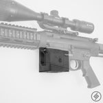 Panzer AR-12 Wall Mount, Left, Transparent, Spartan Mounts