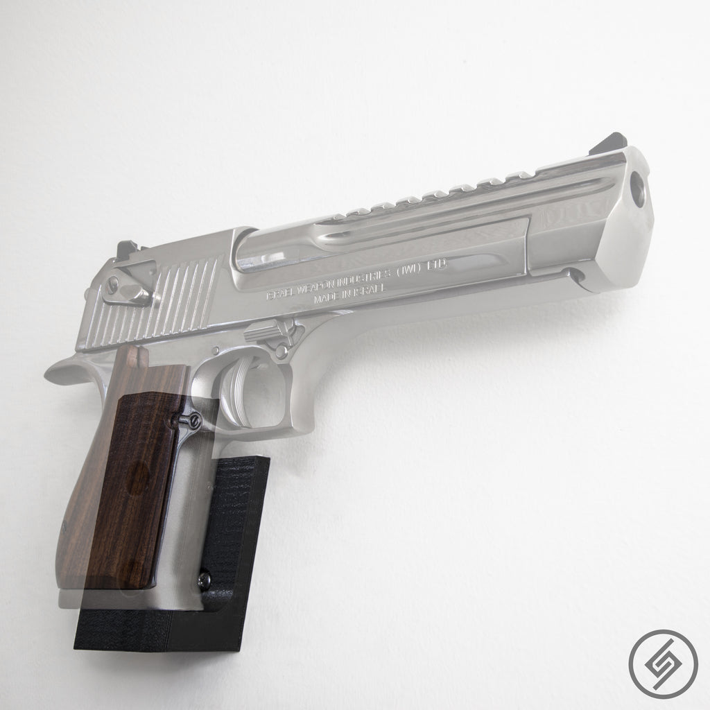 Desert Eagle Wall Mount, Right, Transparent, Spartan Mounts