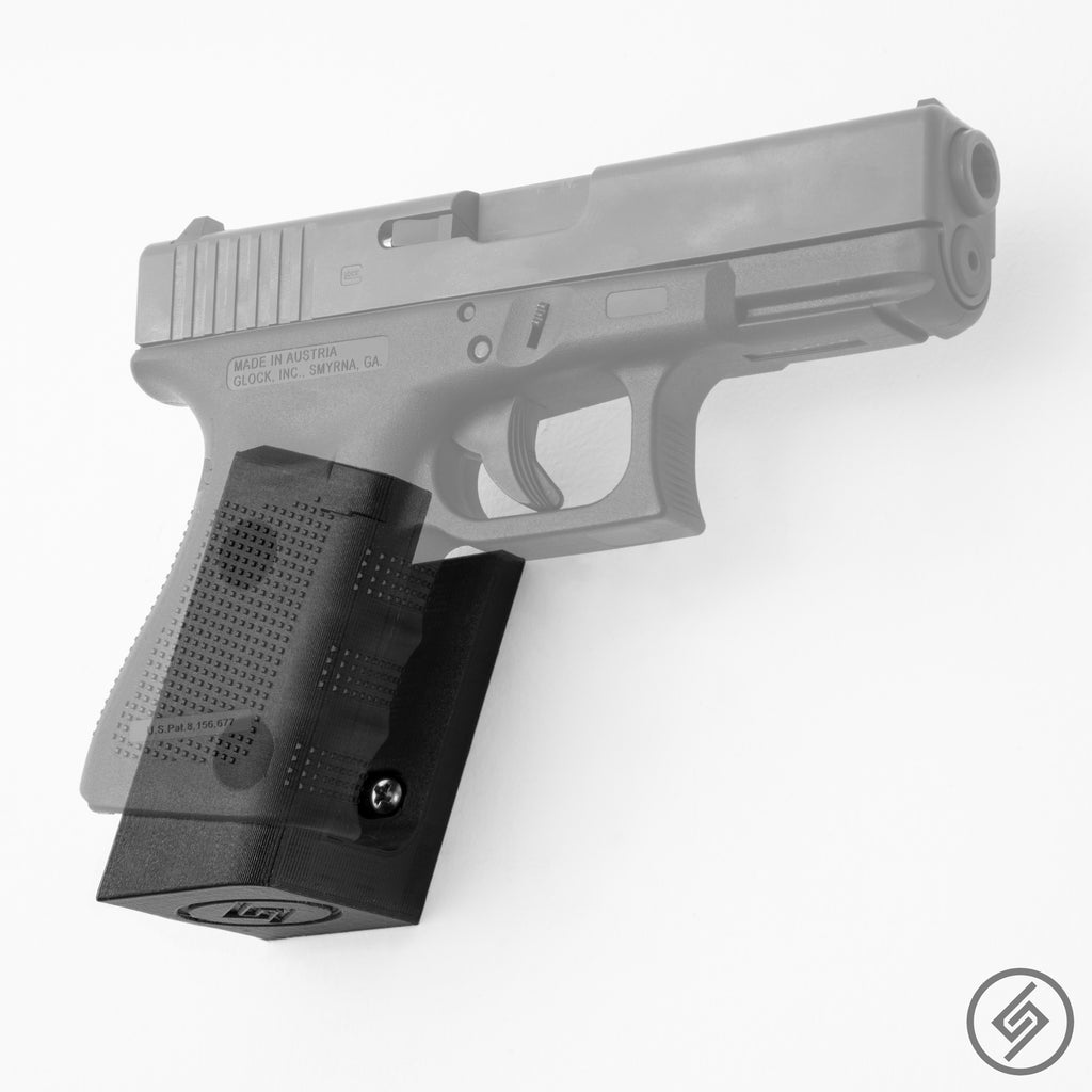 Glock Wall Mount, Right, Transparent, Spartan Mounts