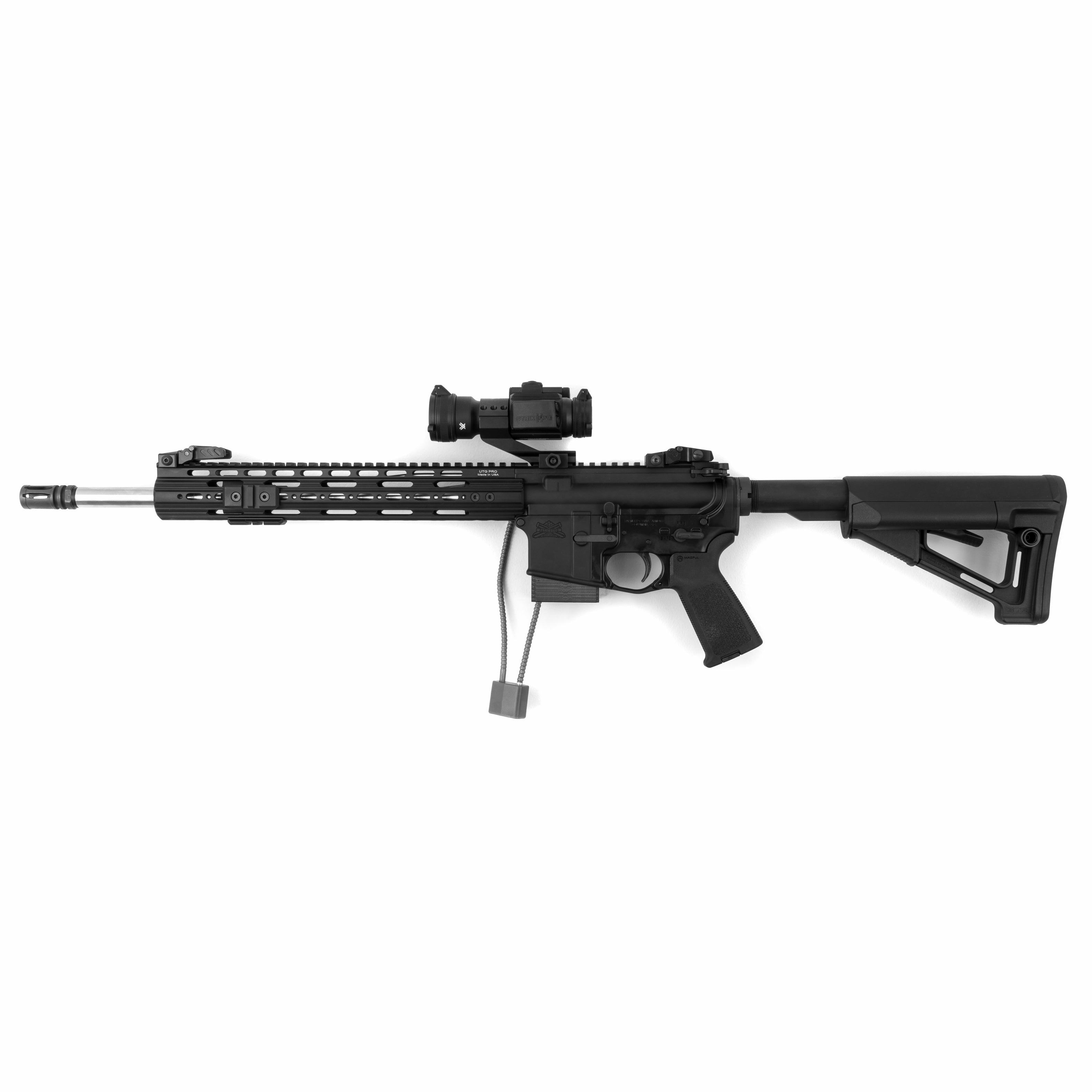 AR-15 California Edition Spartan Mounts Wall Mount Pointing Left