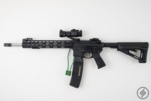 AR-15 + PMAG California Wall Mount, Left, Spartan Mounts