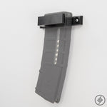 PMAG AR-15 1x Flat Magazine Wall Mount, Transparent, Spartan Mounts