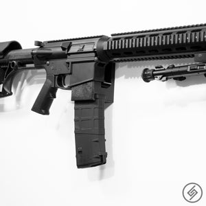 AR-10 + PMAG Wall Mount, Right, Spartan Mounts