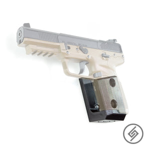 Mount for FN 5.7 Pistol, Transparent, Left, Spartan Mounts, Pistol Display