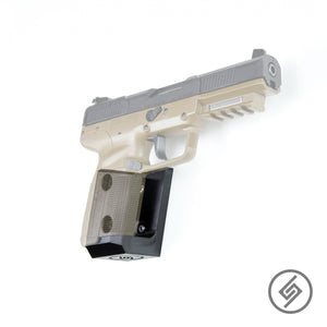 Mount for FN 5.7 Pistol, Transparent, Right, Spartan Mounts, Pistol Display