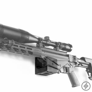 Wall Mount for RUGER Precision Rifle, Left, Transparent, Spartan Mounts