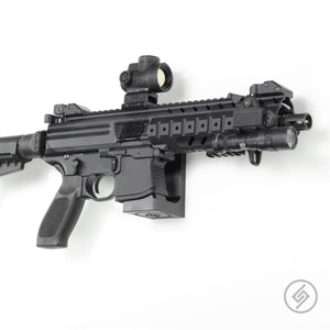 Mount Customized for the SIG MPX Pistol, SBR, and Rifle, Right, Spartan Mounts, Rifle Display