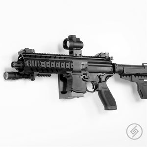 Mount Customized for the SIG MPX Pistol, SBR, and Rifle, Left, Spartan Mounts, Rifle Display