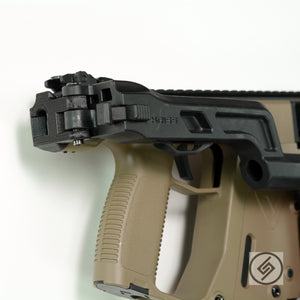 Use 1 Gen Stock for 2 Gen Vector, Adapter Kit for KRISS Vector, Spartan Mounts, Display Photo