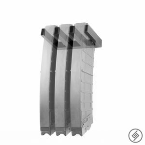 Wall Mount for Polymer SAIGA 12 Magazines, Spartan Mounts