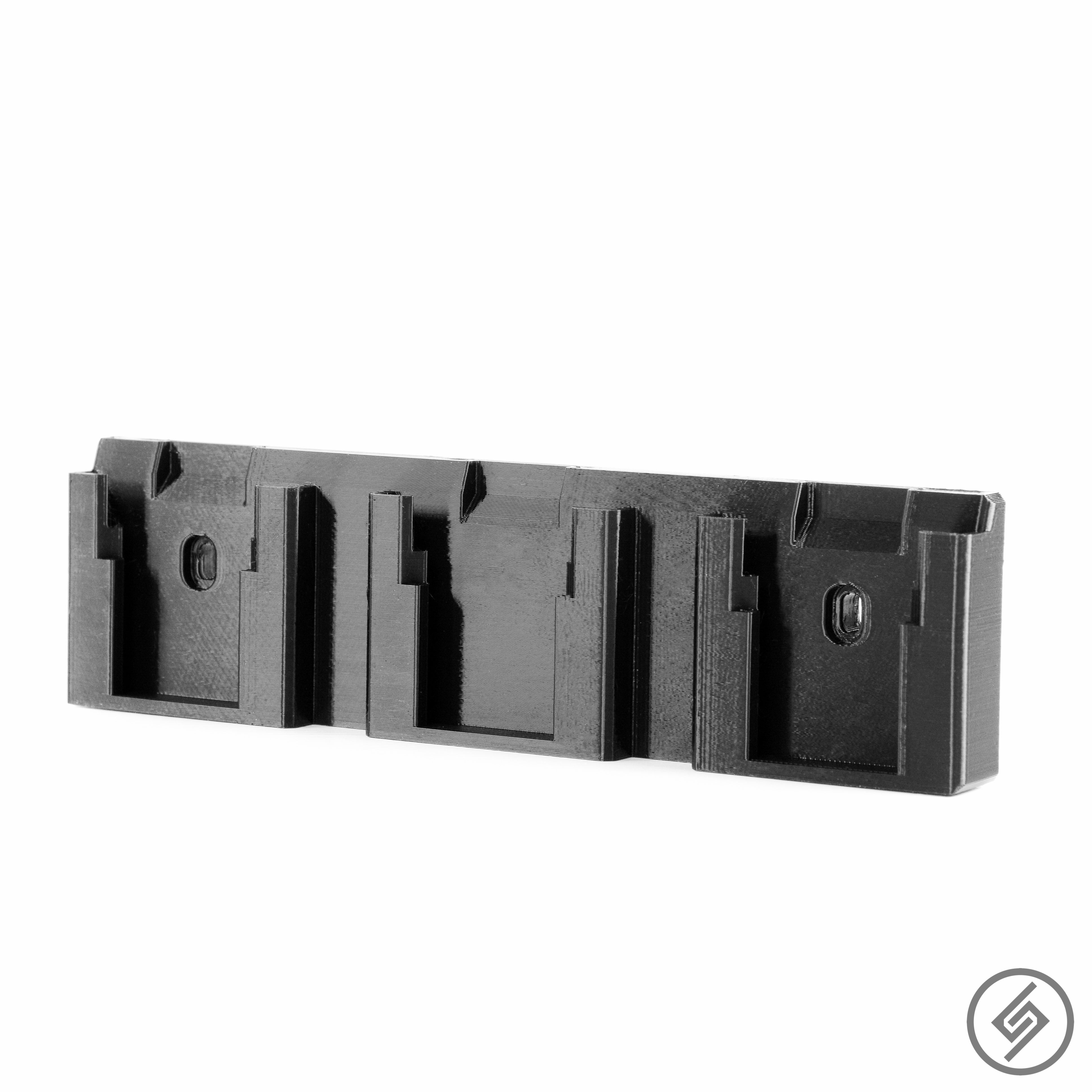 Wall Mount for DeWalt 20V Battery, Spartan Mounts, Display Photo