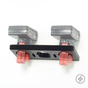 Mount for all sizes of M12 Batteries, Transparent, Spartan Mounts