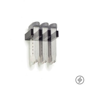 Wall Mount for Kimber Micro 9 Pistol Mags, Transparent, Spartan Mounts