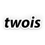 TWOIS Official | twois Logo Sticker